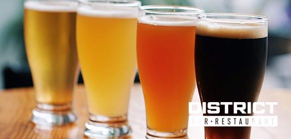district-craft-beer-menu